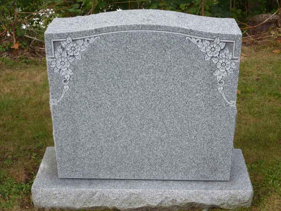 A You Will Never Be Forgotten Headstone Just Got Left