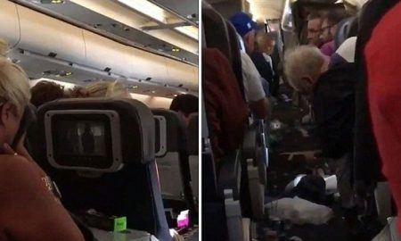 America airlines turbulence
