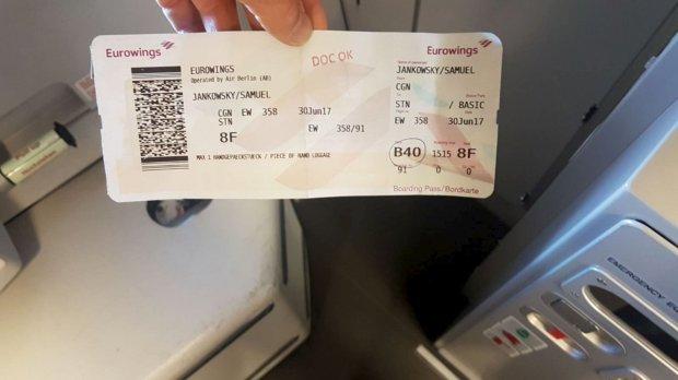 Banker wrong plane