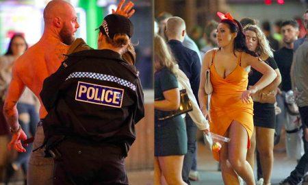 Blackpool carnage