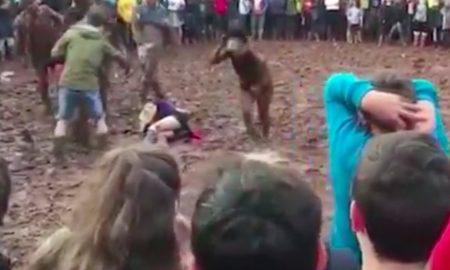 Festival brawl