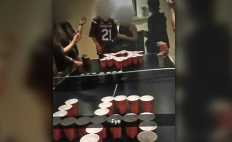 Jew v Nazi beer pong