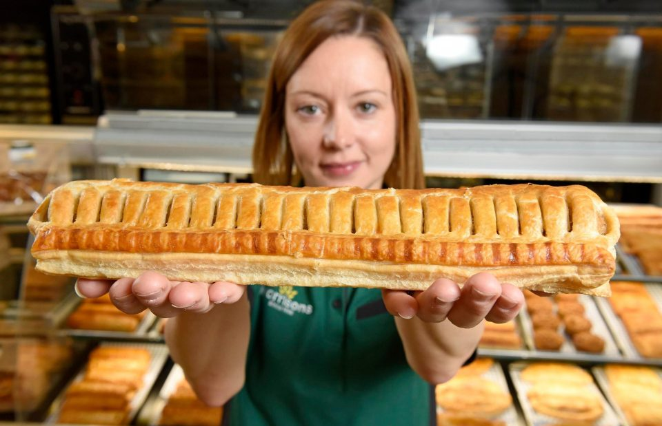 Morrisons sausage roll