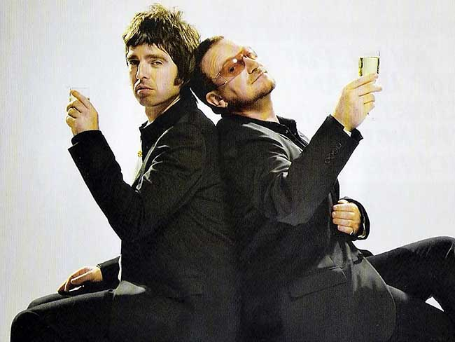 Noel Gallagher Bono