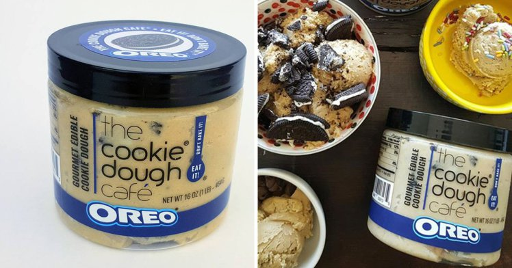 Oreo cookie dough