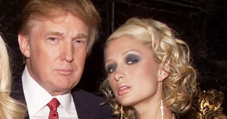 Paris Hilton Trump