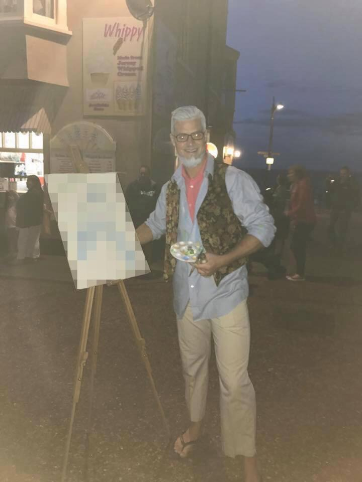 Rolf Harris fancy dress