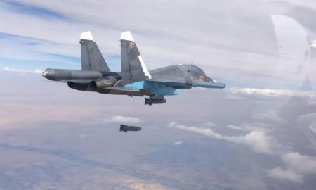 Russian air strike