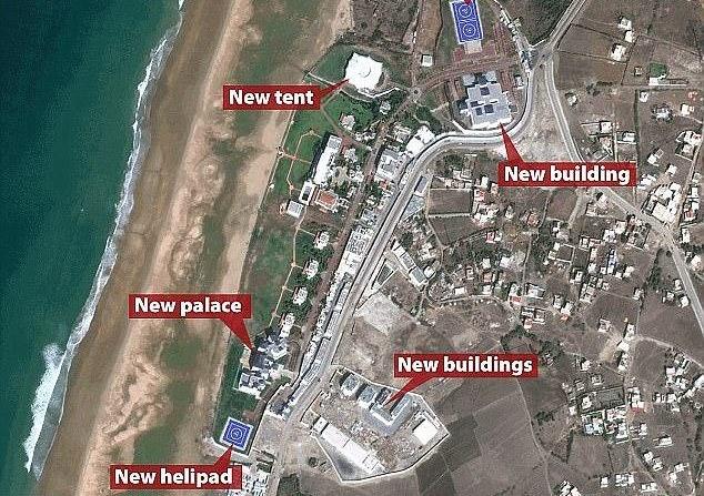 Saudi King complex