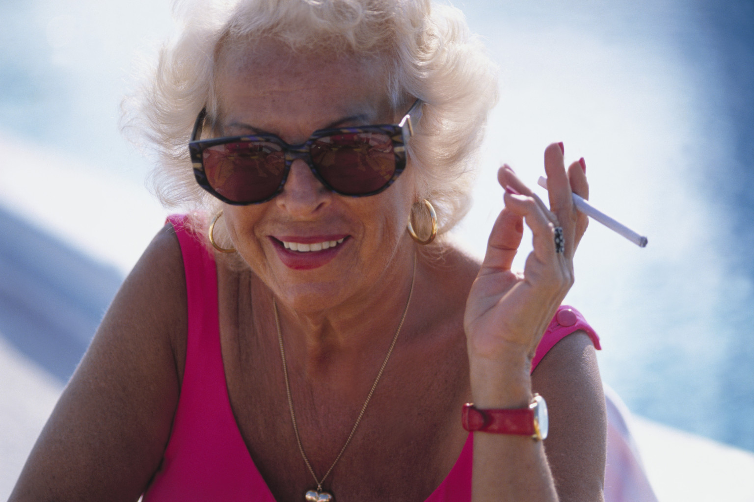 Old women smoking cigarettes opinion