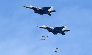 South Korea bombs