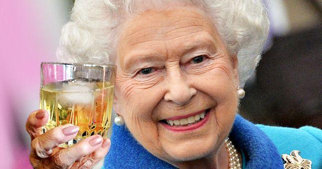 The Queen drink