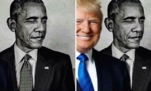 Trump Obama Eclipse