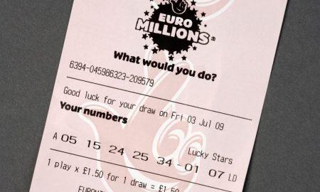 Uk lottery ticket