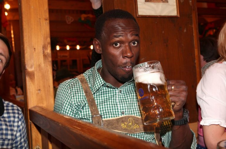 Usain Bolt Partying