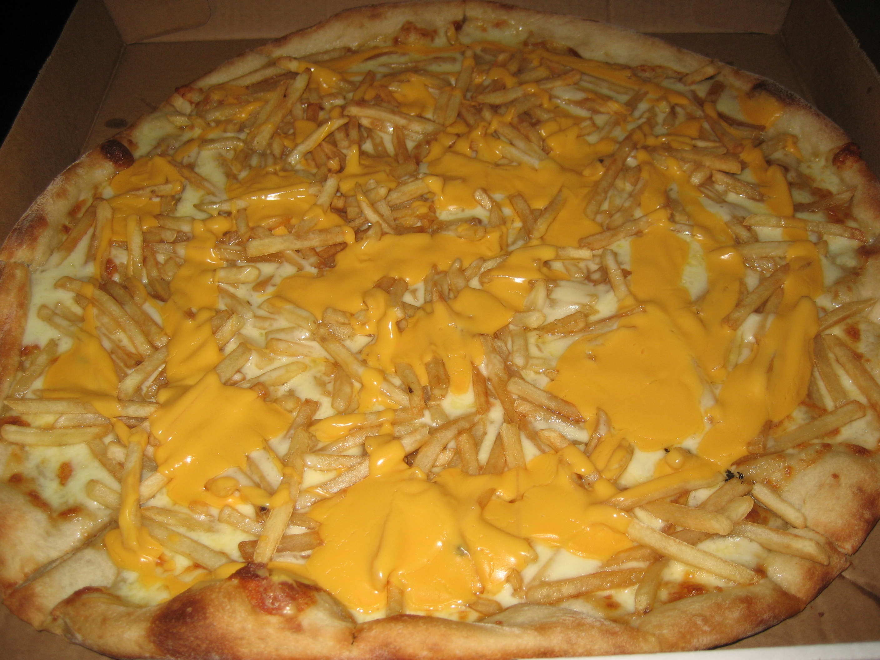 You Can Now Buy A Cheesy Chips Pizza And It Looks As Gross ...