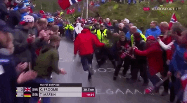 Cycling Fan Obliterated