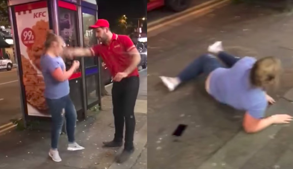 Drunk Kebab Woman
