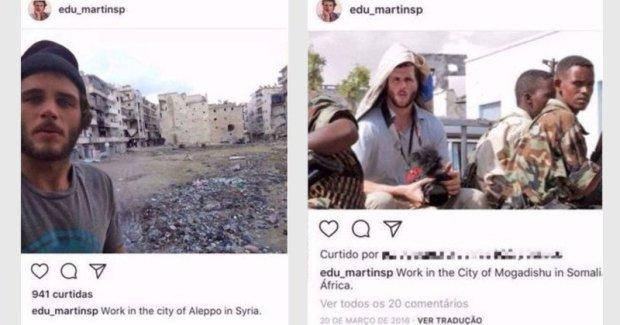 Fake war journo