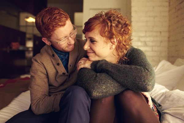Ginger couple