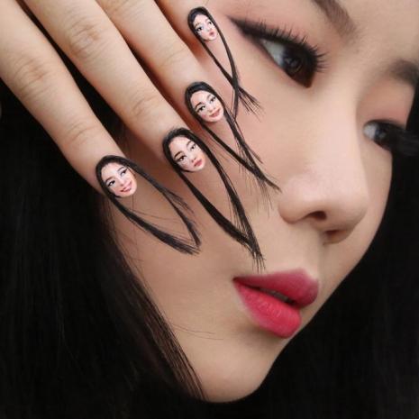 Hair Nails 1