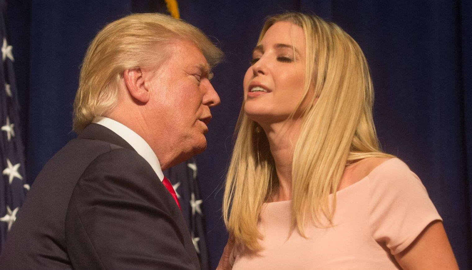 dick touches breast ivanka trump kimmel