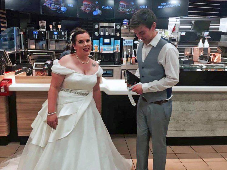 MCDONALDS WEDDING MEAL