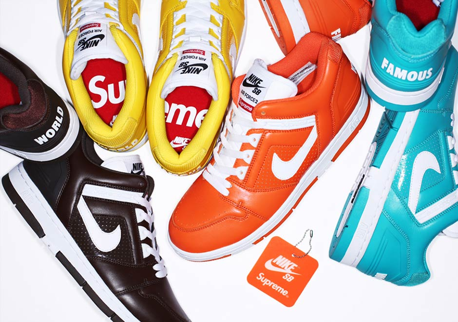 Supreme Nike SB Air Force 2