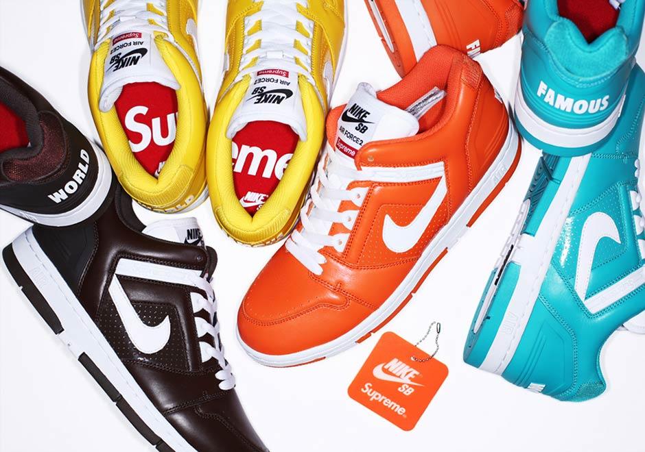 Supreme Nike SB Air Force 2