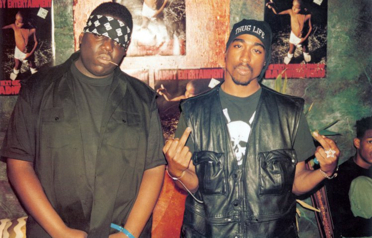 Biggie and Tupac - 2002