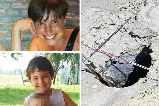 First Pictures Show Mum And Son 'Boiled Alive' After Falling