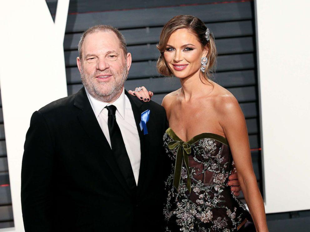 Harvey Weinstein and wife
