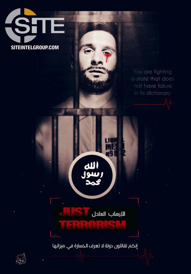 ISIS Lionel Messi 1