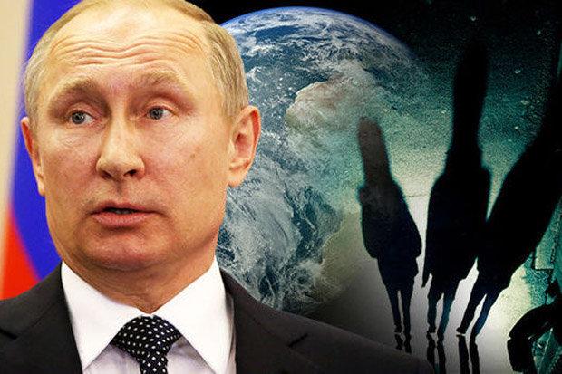 Putin aliens