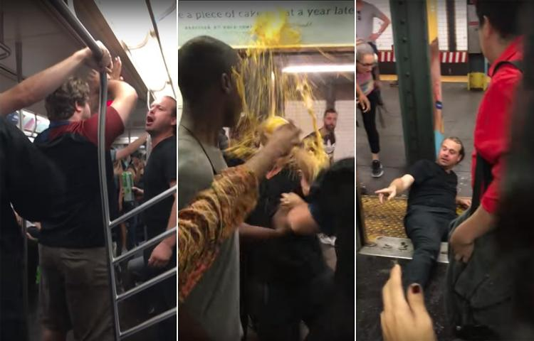 Racist Thrown Off Train