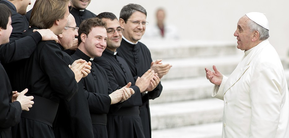 The Pope and Priests