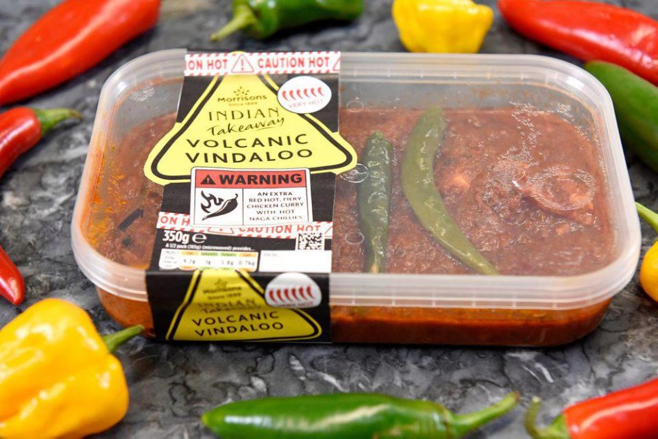 Morrison S Are Selling The Volcanic Vindaloo The