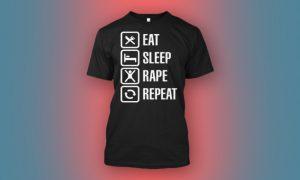 rape t shirt