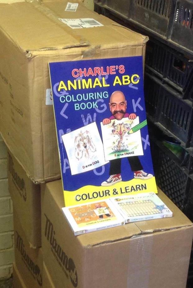 Bronson Colouring Book