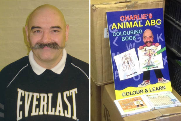 Bronson Colouring Book2