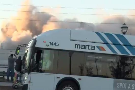 Bus Explosion