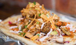 Christmas Doner Kebab
