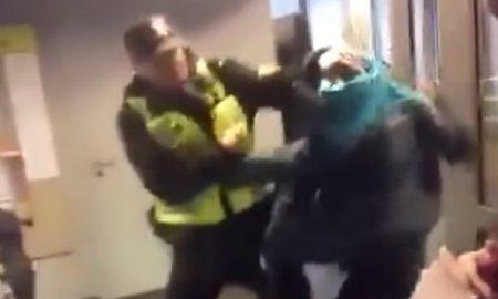 Cop Beat Up Kid