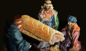 Greggs Christmas Sausage Roll