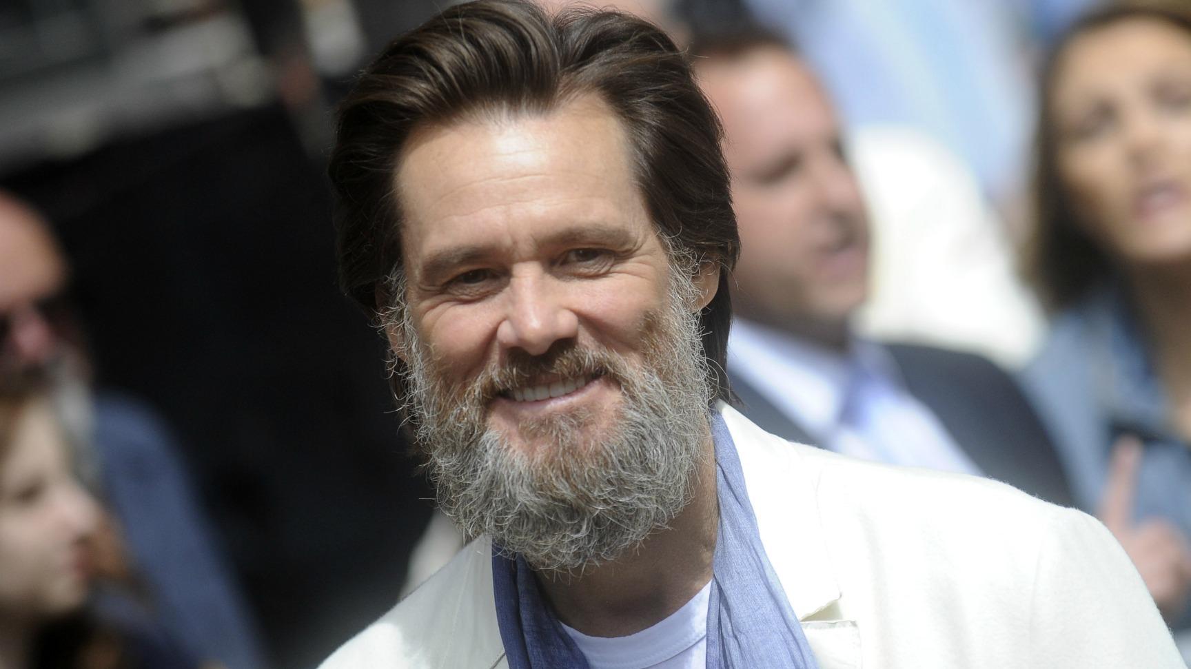 Jim Carrey Beard