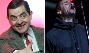 Liam Gallagher Mr Bean