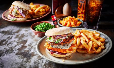 Nando's Christmas Burger