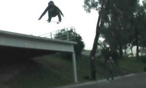 Ollie Skating.