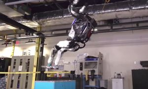Robot Backflip