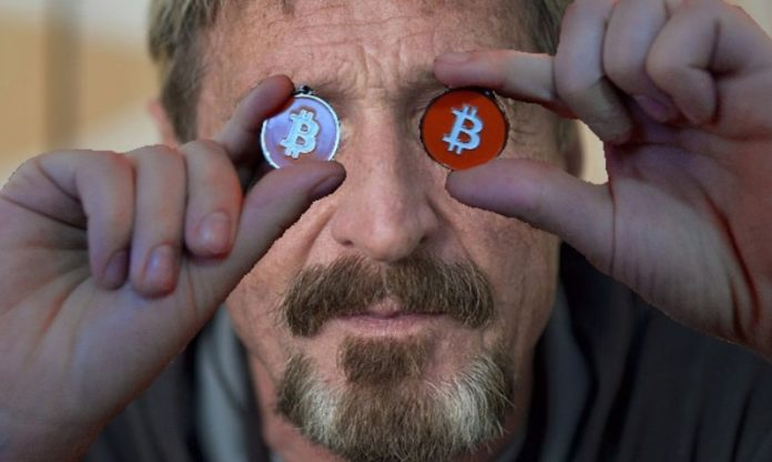 Bitcoin McAfee